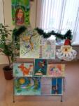 Выставка детского творчества. Декабрь 2018