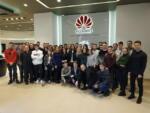 Экскурсия в Белорусскую государственную академию связи и БелХуавэйТехнолоджис. Февраль 2019