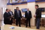 Министр связи и информатизации РБ Шульган Константин Константинович в Витебском филиале Академии связи. Октябрь 2018